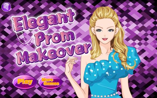 Elegant Prom Makeover