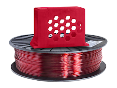 Translucent Red PRO Series PETG Filament - 2.85mm (1kg)