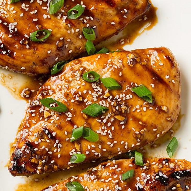 Hoisin Glazed Grilled Chicken Recipe
