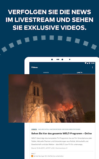 WELT News – Nachrichten live 6.3.0 screenshots 23