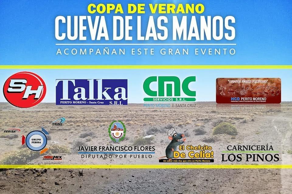 El Podio Sur estará presente en Perito Moreno