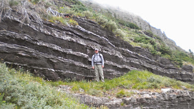 Photo: Cool outcropping along Iceberg Lake Trail