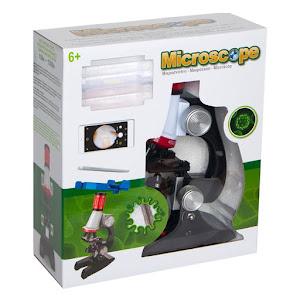 Set stiintific - Microscop pentru copii, zoom 100x 1200x