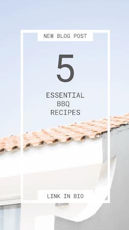 Essential BBQ Recipes - Facebook Story item