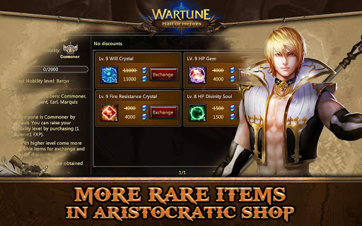Wartune: Hall of Heroes 7.3.1 screenshots 4