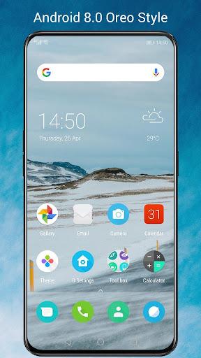 O Launcher for 8.0 O Oreo Launcher style 6.7.1 screenshots 1