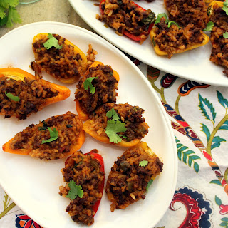 Mini Mexican Style Stuffed Peppers