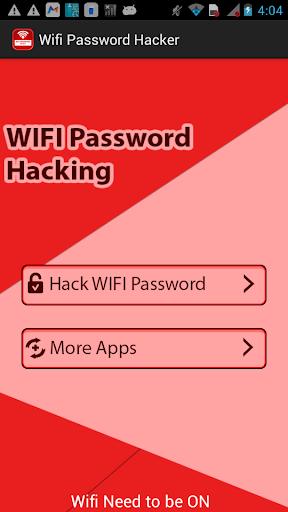 无线密码黑客恶作剧