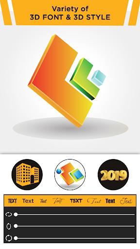 3D Logo Maker: Create 3D Logo and 3D Design Free 1.1.6 screenshots 2