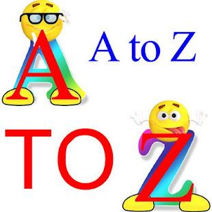 A to Z Alphabets - náhled