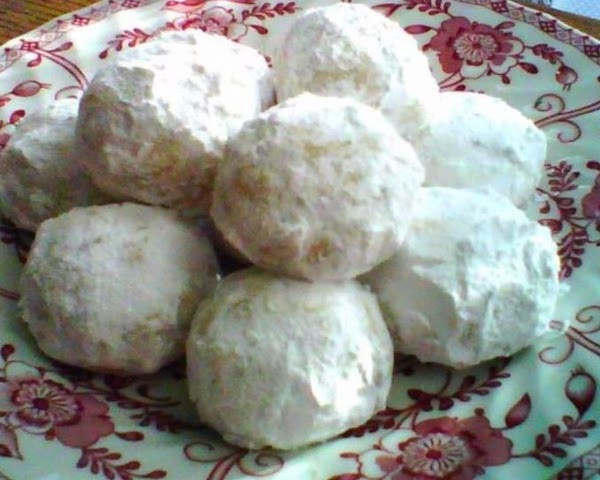 Snowballs (russian Tea Cakes) Recipe