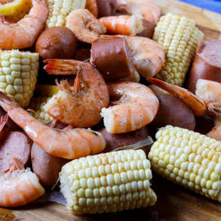 Slow Cooker Low Country Boil.