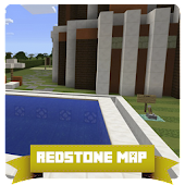 Redstone Smart House Map MCPE