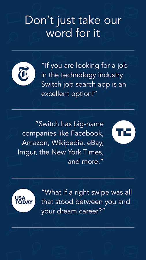 Job Search - Switch- screenshot