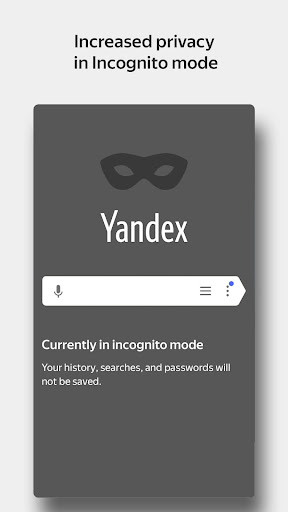 Yandex Browser with Protect screenshot 5