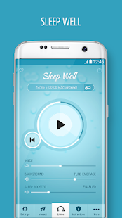 Sleep Well Hypnosis -  Insomnia & Sleeping Sounds- screenshot thumbnail