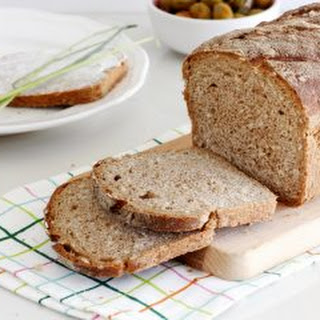 5 Ingredients Whole Wheat Bread.