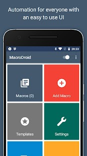 MacroDroid - Device Automation Screenshot