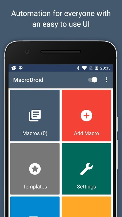 MacroDroid - Device Automation– снимак екрана