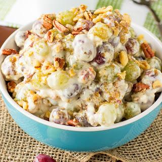 Pecan Crunch Grape Salad Recipe