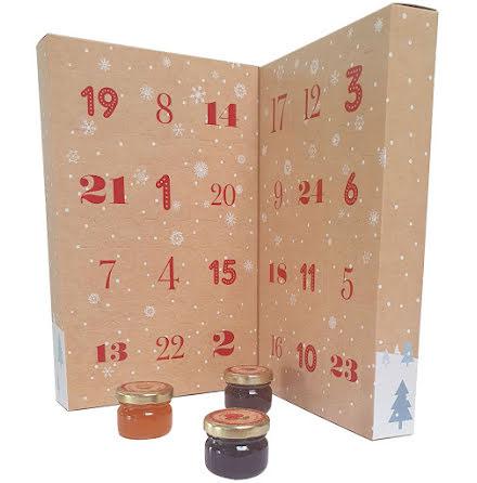 Marmeladkalender, adventskalender 2020 - Andrésy Confitures