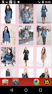 Women Jeans Tops Photo montage - náhled