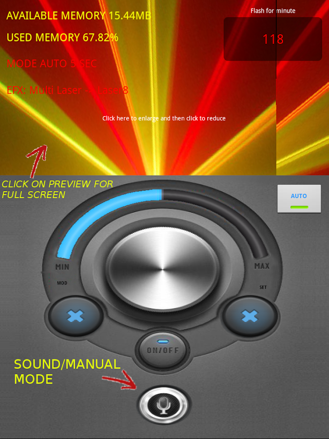 Light jockey pro (With torch)- screenshot