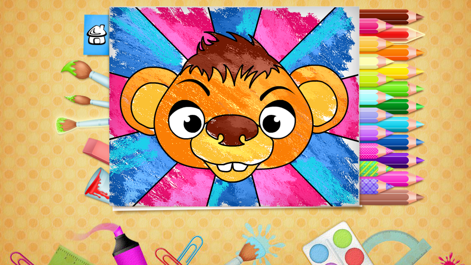 123 Kids Fun COLORING BOOK Pro Screenshot