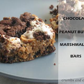 Chocolate PB Marshmallow Bars.