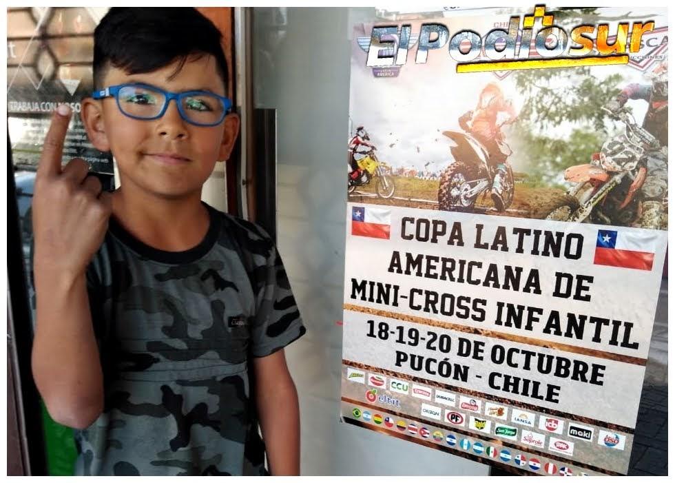 Junior ya está en Chile con un bolso de cargado de ilusión