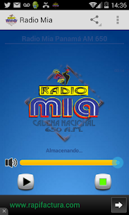 Radio Mia Panama- screenshot thumbnail