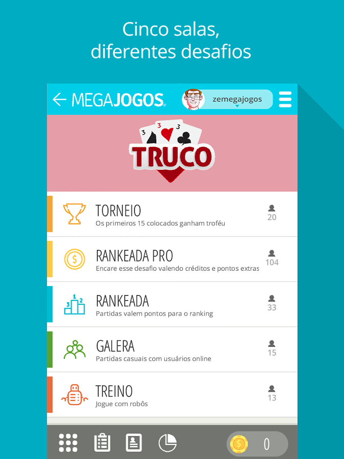 Truco Online- screenshot