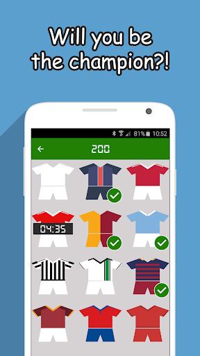 Football Game - Jersey Quiz
