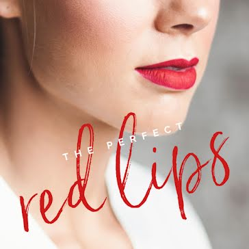 The Perfect Red Lips - Instagram Post Template