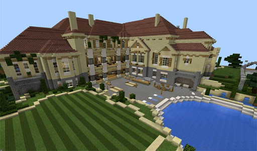 Houses and Mansion maps for MCPE for PC