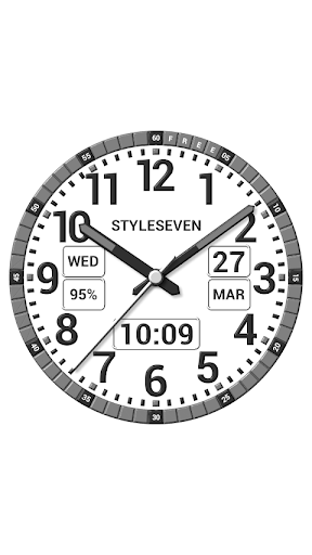 Download Kit Analog Clock Live Wallpaper-7 on PC & Mac with