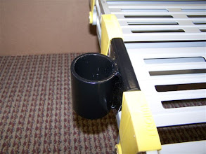 Photo: Custom brackets allow for easy installation of handrails.
