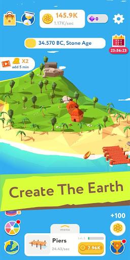 Evolution Idle Tycoon - World Builder Simulator screenshots 1