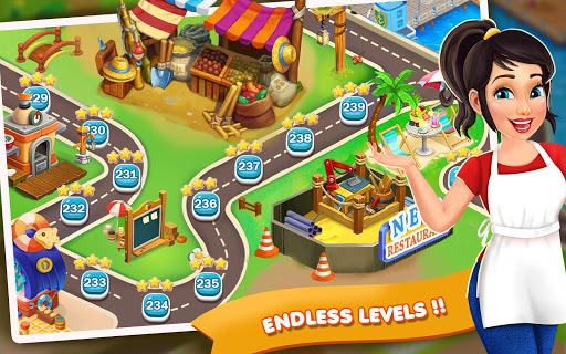 Code Triche Restaurant Fever: Chef Cooking Games Craze APK MOD screenshots 4