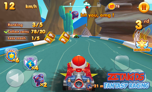 ZetaKids - Fantasy Racing Adventure | Robot Fun 3D for PC-Windows 7,8,10 and Mac apk screenshot 10