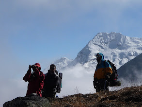 Photo: Michael, David and Matt in Hunku valley