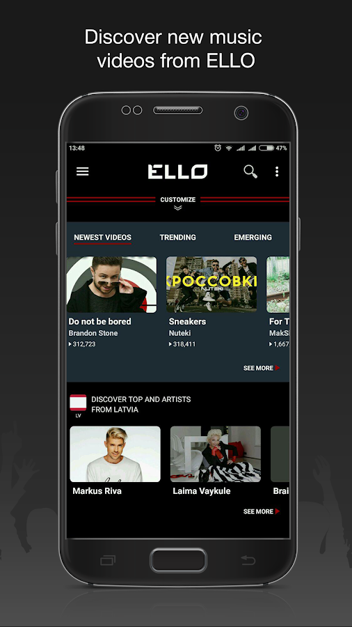 ELLO - Global music videos- screenshot