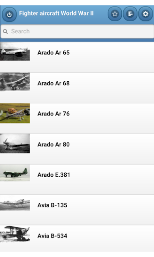 Fighter aircraft World War II