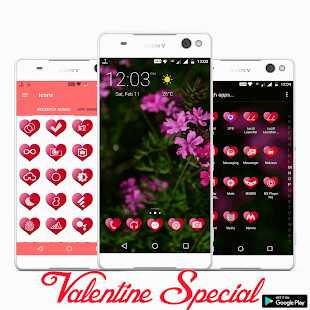 Valentine Premium - Icon Pack Screenshot