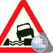 Traffic Sign Color By Number-Pixel: Coloring Book