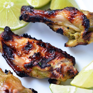 Chile Lime Chicken Wings.