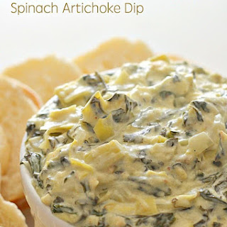Slow Cooker Spinach Artichoke Dip.