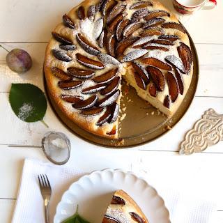 German Plum Cake (Pflaumenkuchen) Recipe