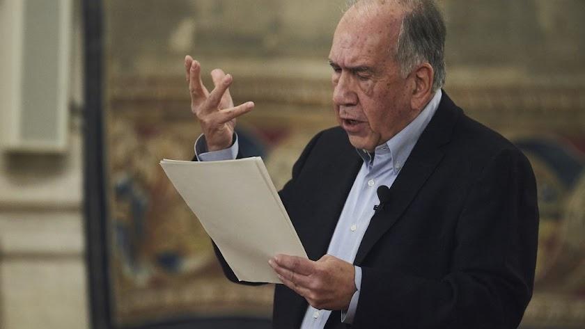 El poeta Joan Margarit, Premio Cervantes en 2019.