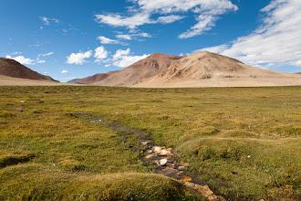 Photo: At Lake Tso Kar, Manali-Leh Highway, Ladakh, Indian Himalayas